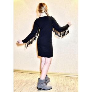 PDF Sewing Patterns. PDF ethnic style women's fringe dress template-patterns-clothing.com
