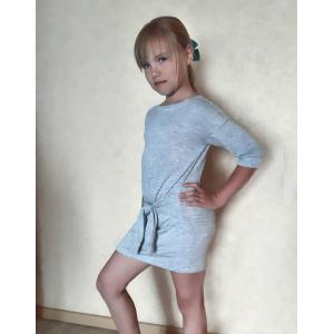 PDF Sewing Patterns. Dress with decorative sleeves-belt