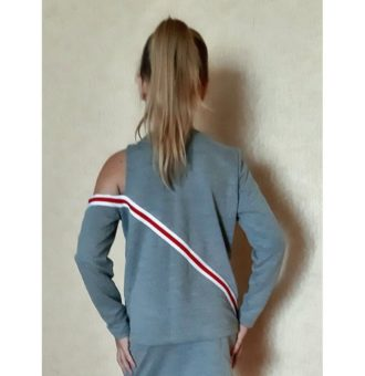 The suit pattern for a girl in sport-elegant style - for download. PDF Sewing Patterns.