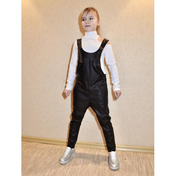 Pattern stylish jumpsuit for girls – for download PDF