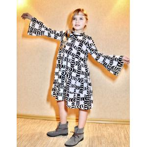 Boho dress with frills - PDF Sewing Patterns