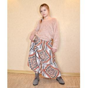 Pattern faux fur sweatshirt for girls - for download PDF-patterns-clothing.com