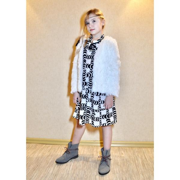 PDF Sewing Patterns. PDF Pattern of a cardigan made of faux fur for a girl -patterns-clothing.com