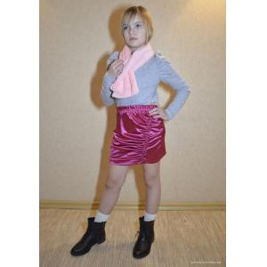 PDF Sewing Patterns. Pattern fashionable skirt for girls with asymmetric drapery - for download-patterns-clothing
