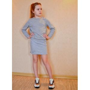 PDF pattern for a knitted suit for a girl - to download-patterns-clothing.com