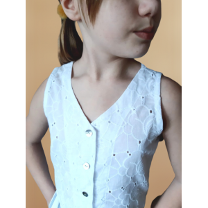 Cotton Tank Top for girl - PDF Sewing Patterns