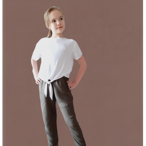 PDF Sewing Patterns. T-shirt oversize with tie